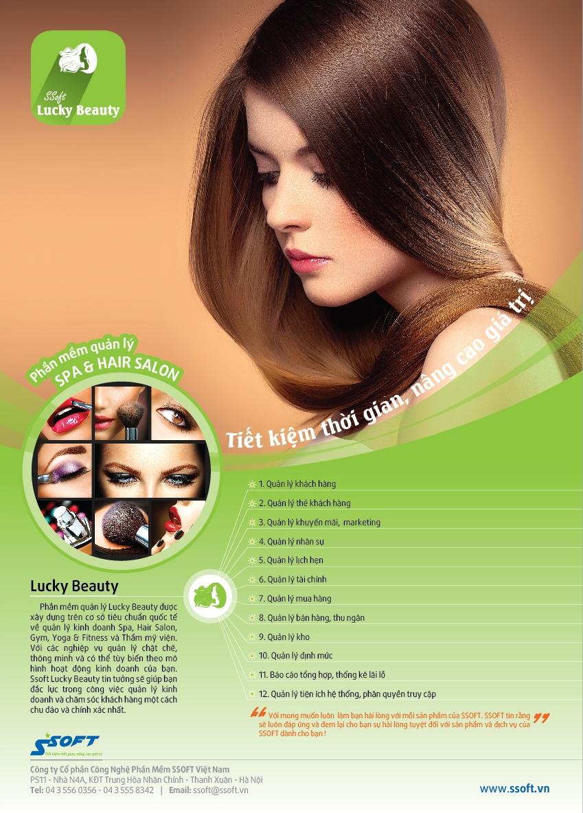 Phan mem Quan ly Salon Toc Spa Tham My Vien Beauty - 2
