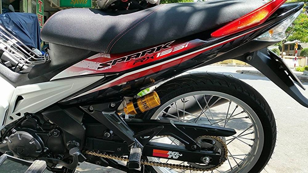 Exciter 2010 len Spark 135 voi nhung mon do gian don - 3