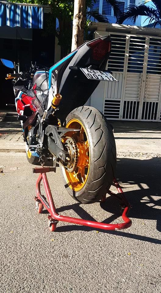 Yamaha R3 dam chat the thao voi phien ban Redbull cua biker Da Nang - 10