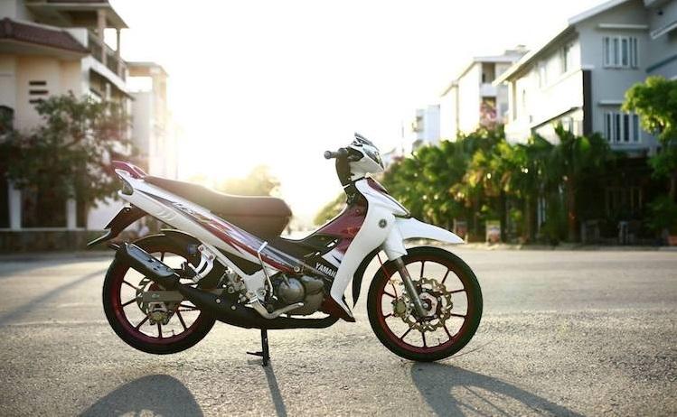 Yamaha Z125 do day an tuong va cuc chat tai Sai Thanh