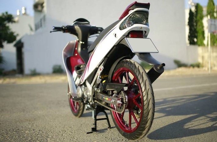 Yamaha Z125 do day an tuong va cuc chat tai Sai Thanh - 6