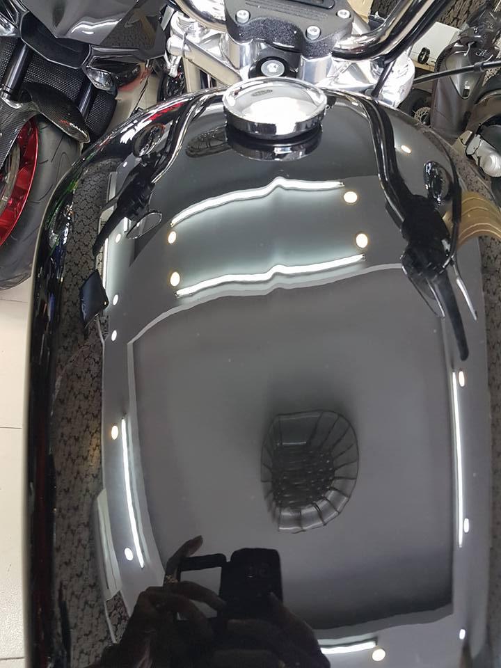 an ban Harley Davidson 883 2016 tinh trang xe moi nhu thung mua ve ngam choi HQCNsang ten uy quyen - 4