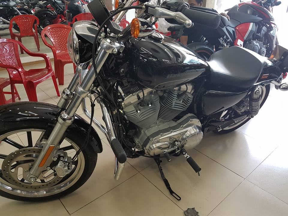 an ban Harley Davidson 883 2016 tinh trang xe moi nhu thung mua ve ngam choi HQCNsang ten uy quyen - 6