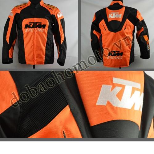 Ao giap KTM gia re chat biker - 2