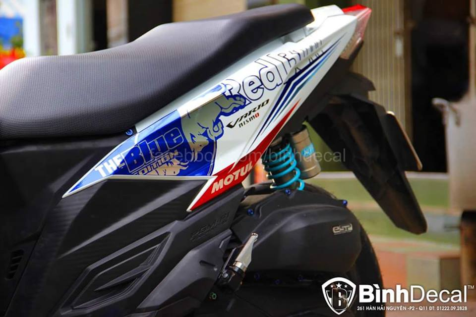 Binh Decal ra mat ban do Click 125i day an tuong - 4