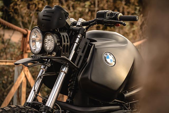 BMW R1100 GS sieu ngau trong ban do Black King cua cua Lucky Custom - 9