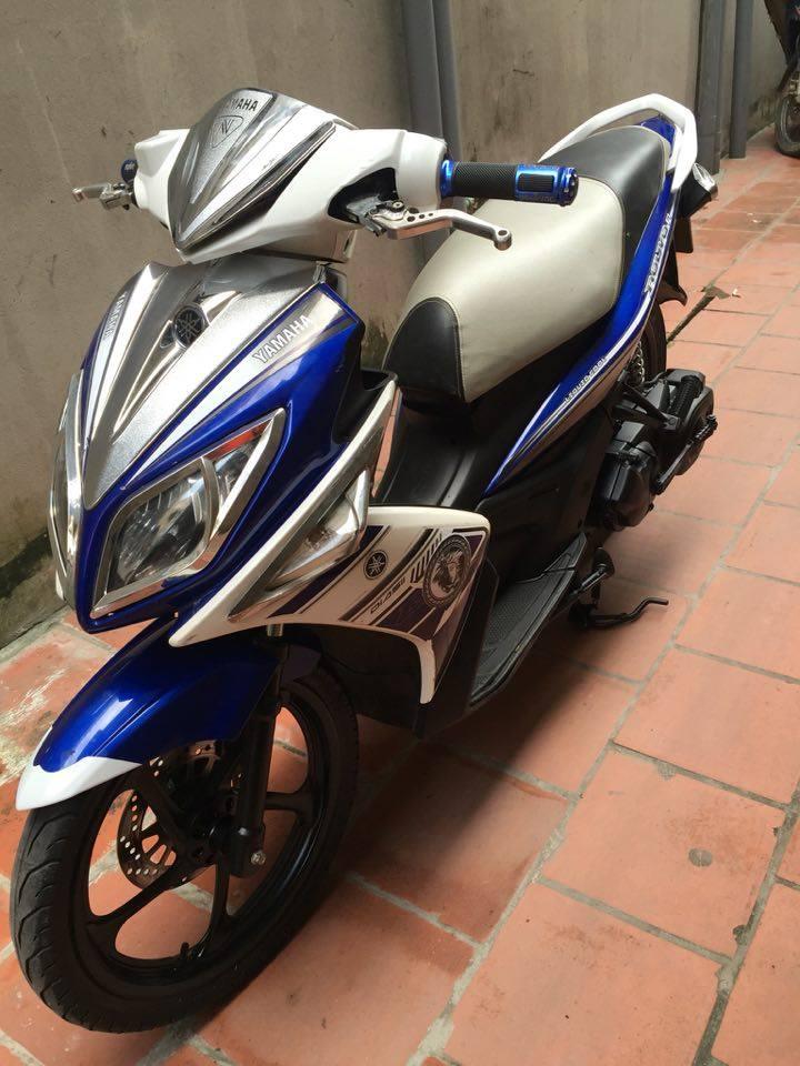 Can ban Yamaha Nouvolx 135 Sport xanh GP 2011 bien HN 5 so xe con dep may cuc chat 15tr - 3