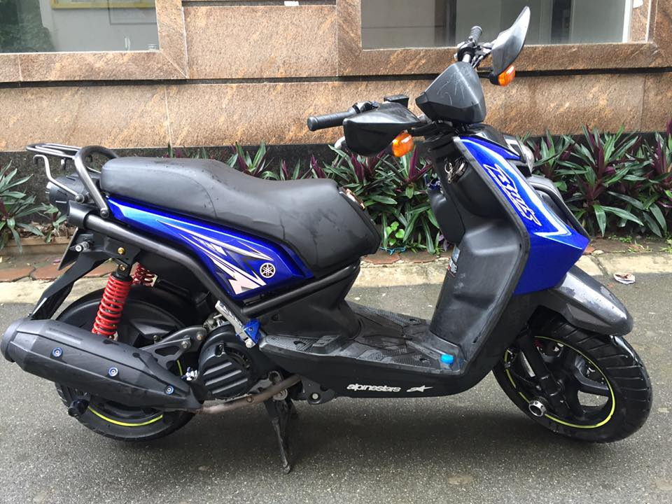 Can ban Yamaha Sport BWS 2013 xanh Gp ca tinh doi moi nhat 29E 888 con nhu moi 27tr - 5