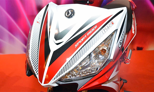 Can canh chi tiet SYM Sport Rider 125i vua duoc ra mat - 8