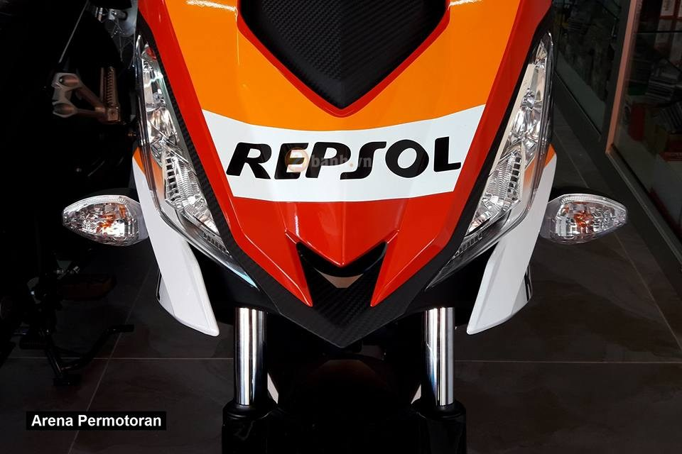 Can canh Winner 150 phien ban Repsol chinh hang - 2