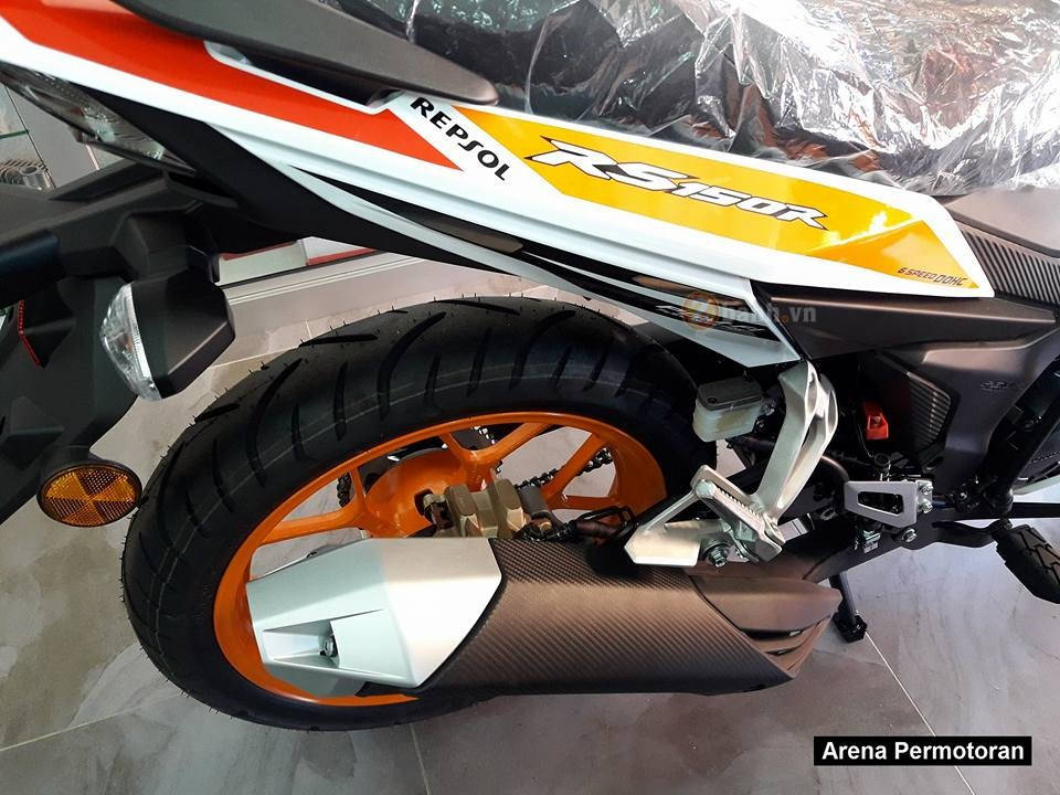 Can canh Winner 150 phien ban Repsol chinh hang - 7