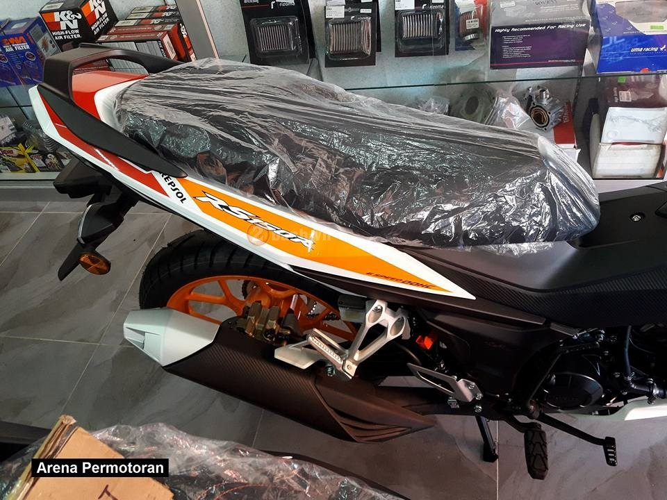 Can canh Winner 150 phien ban Repsol chinh hang - 8