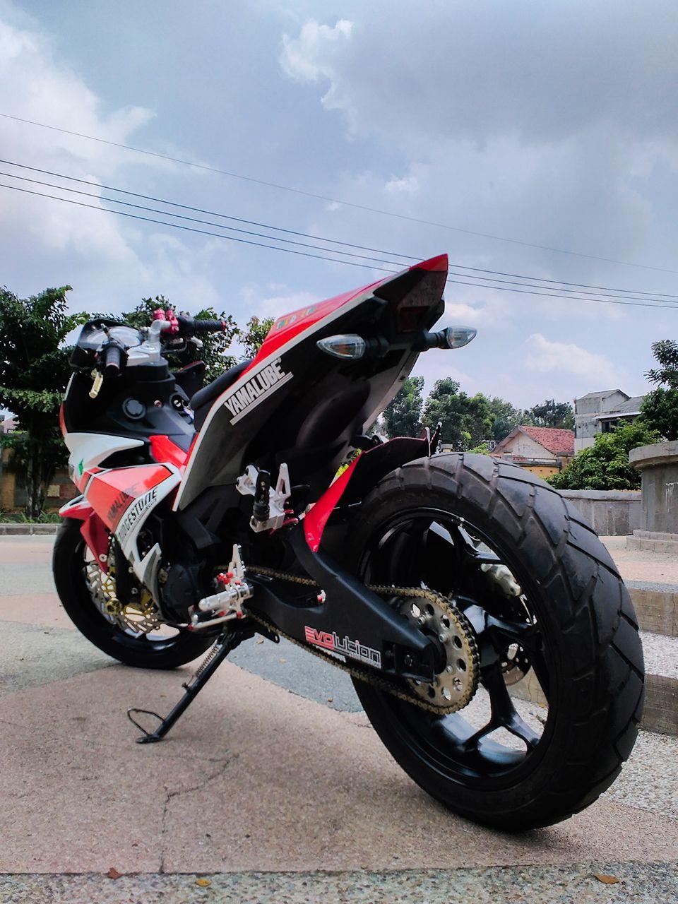 Chiec Exciter 135 do pha cach cua biker Viet - 4