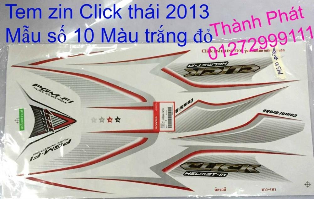 Chuyen Phu tung CLick thai 2013 Su Hayate thai va VN Gia tot - 9