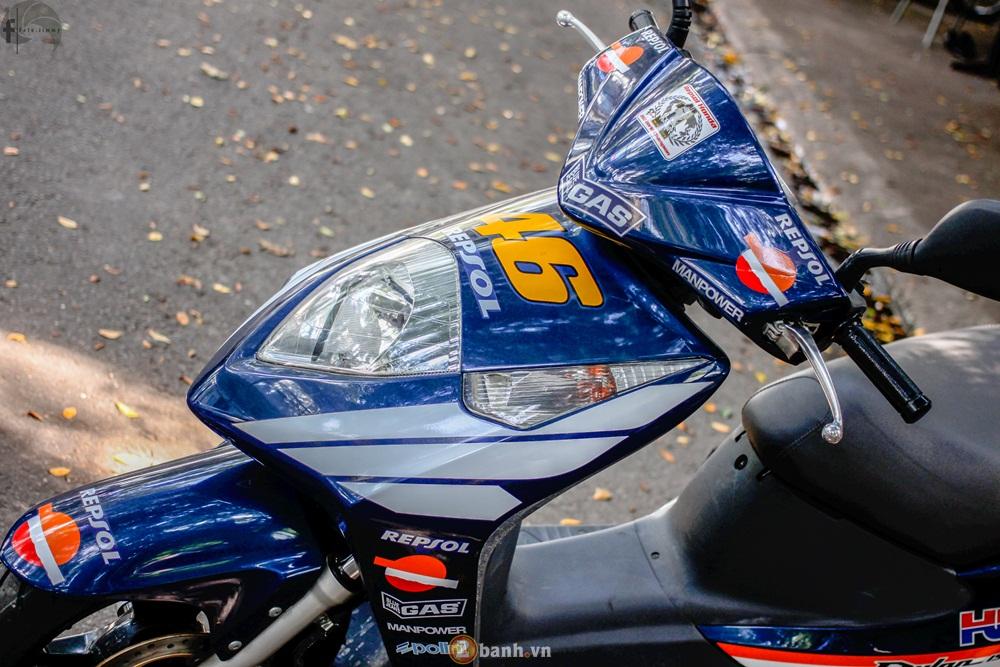 Hang hiem Honda Dylan phien ban Repsol voi so hieu 46 Valentino Rossi - 10