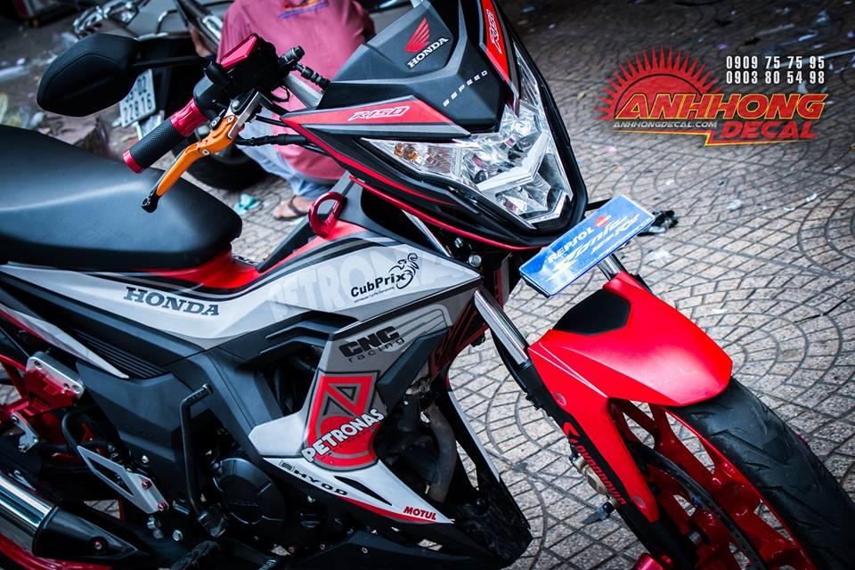 Hang nong Honda Sonic 150 2016 manh me va chat choi - 2