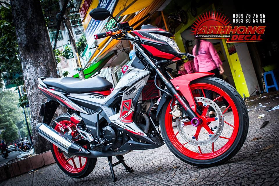 Hang nong Honda Sonic 150 2016 manh me va chat choi - 4