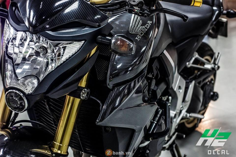 Honda CB1000R chat choi ben dan ao full carbon 6D - 4