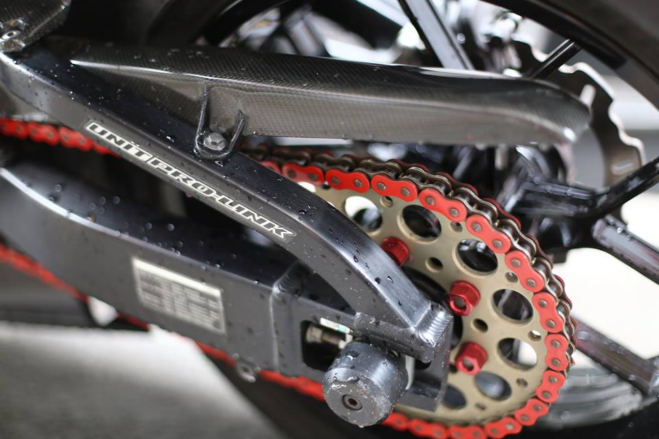 Honda CBR600RR vo cung an tuong trong ban do cuc chat cua biker Viet - 6