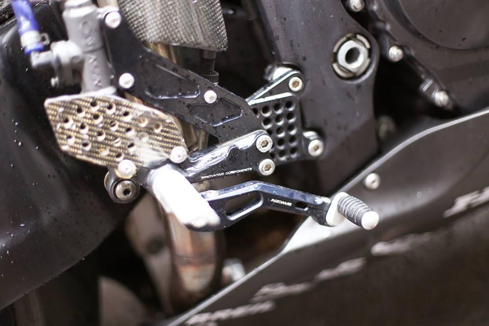 Honda CBR600RR vo cung an tuong trong ban do cuc chat cua biker Viet - 8