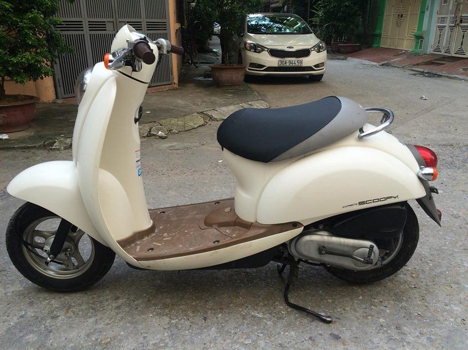 Honda Scoopy 50cc mau be nhap khau Nhat nhu moi - 5