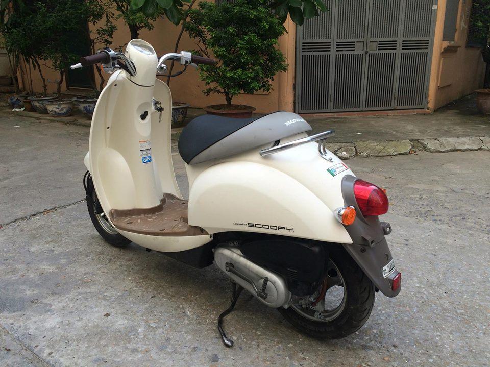 Honda Scoopy 50cc mau be nhap khau Nhat nhu moi - 6