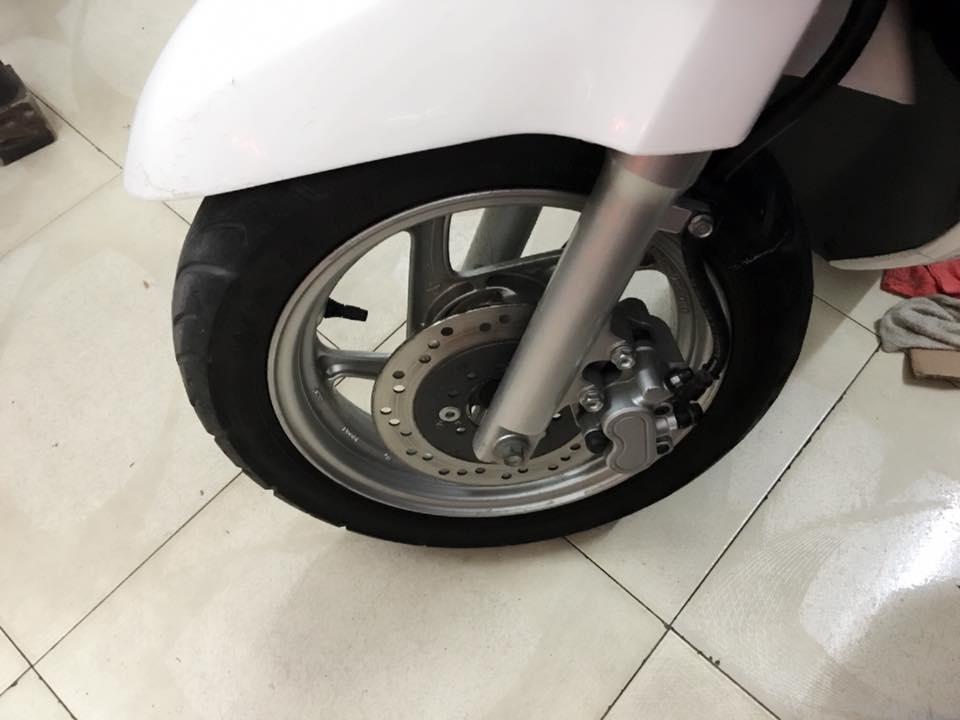 Honda Scr 110fi nhap khau Mau trang chinh chu bstp - 2