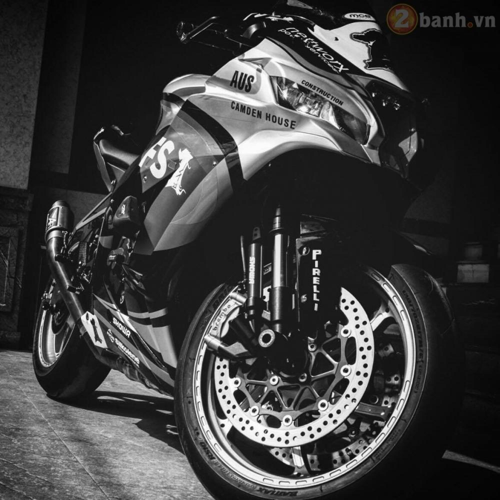 Kawasaki Ninja ZX10R 2016 do sieu khung cua biker Sai Thanh - 3