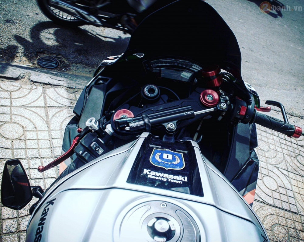 Kawasaki Ninja ZX10R 2016 do sieu khung cua biker Sai Thanh - 5