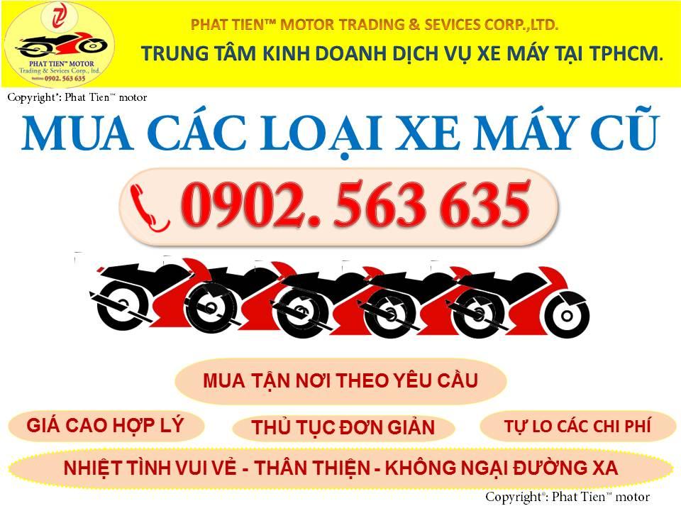 MUA XE MAY CU TAI TpHCM 0902 563 635 - 2
