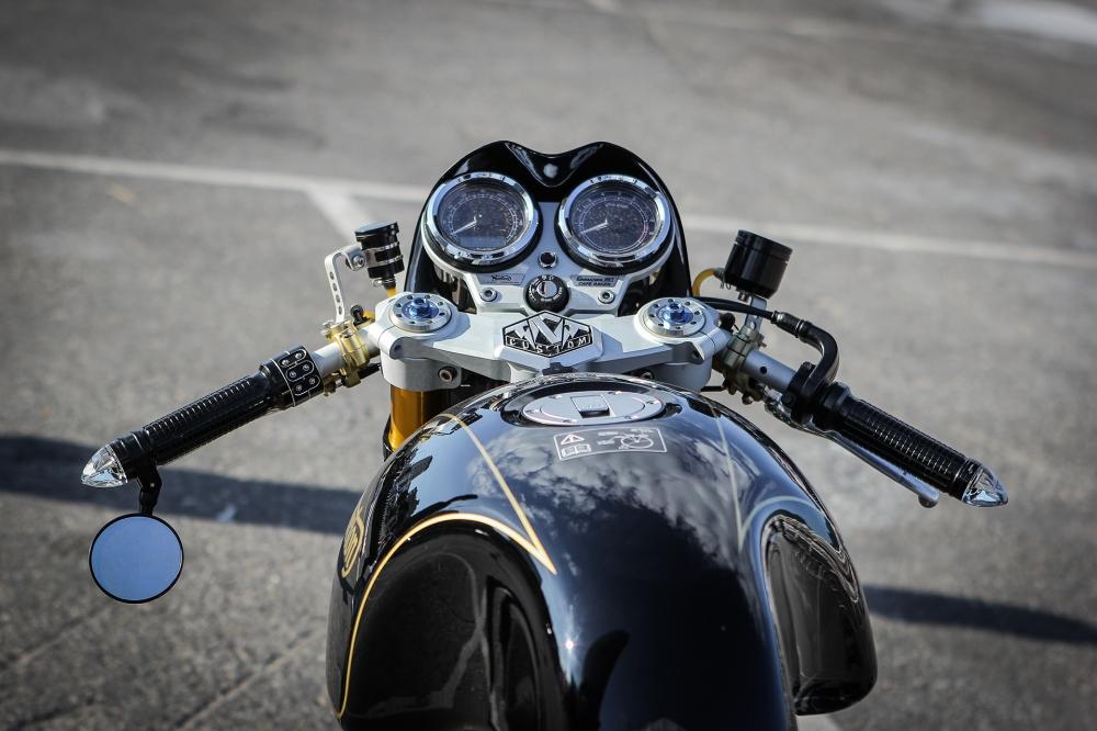Norton Commando 961 Cafe Racer khoe dang tai Vietnam Bike Week 2016 - 5
