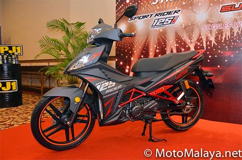 SYM Sport Rider 125i ra mat tai Malaysia - 2
