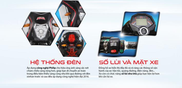 Xe may dien Xman 5 Sport chinh hang 2016 - 6