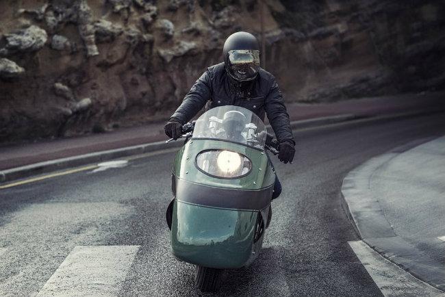 Moto Guzzi V8 do cuc chat cua dan choi phuong Tay - 2