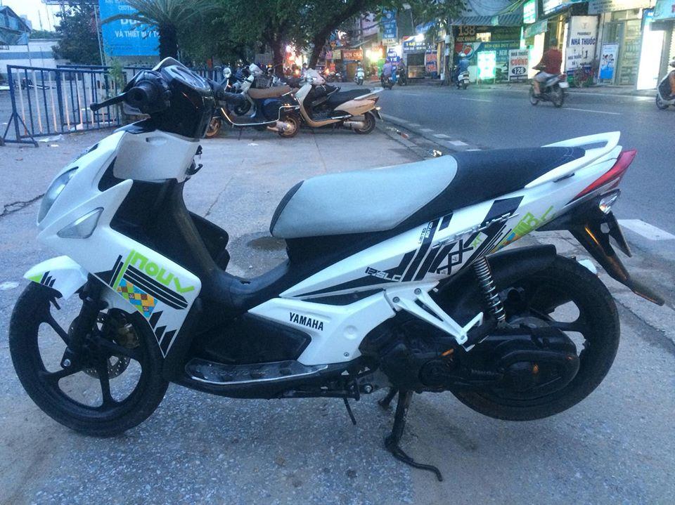 Yamaha Novo LX 135 mau trang doi chot tem caro 2011 - 3