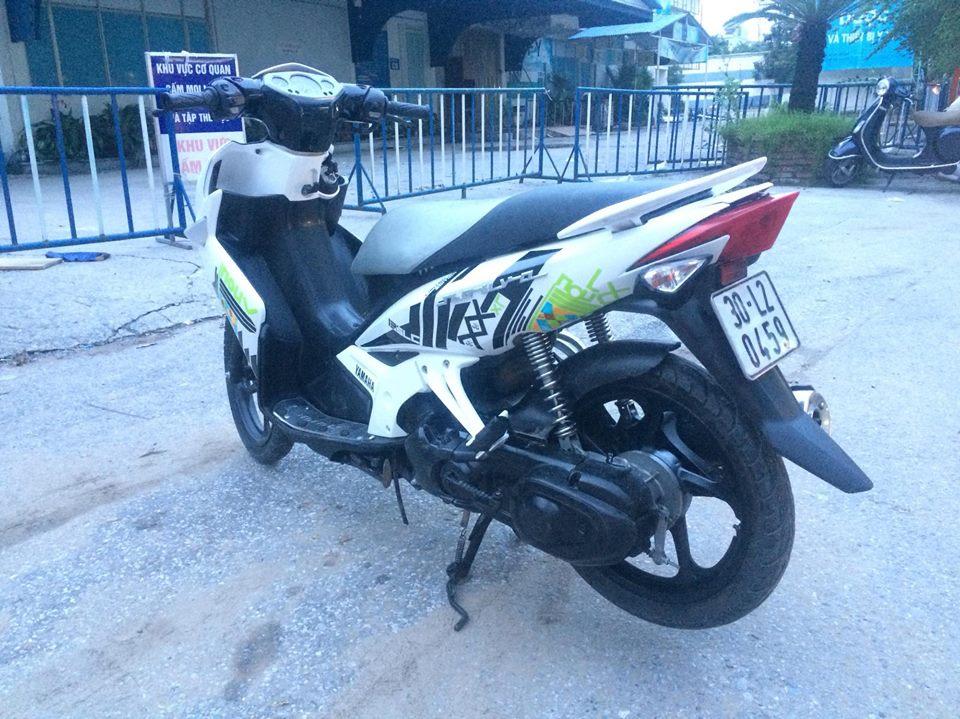 Yamaha Novo LX 135 mau trang doi chot tem caro 2011 - 4