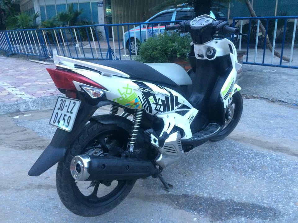 Yamaha Novo LX 135 mau trang doi chot tem caro 2011 - 5