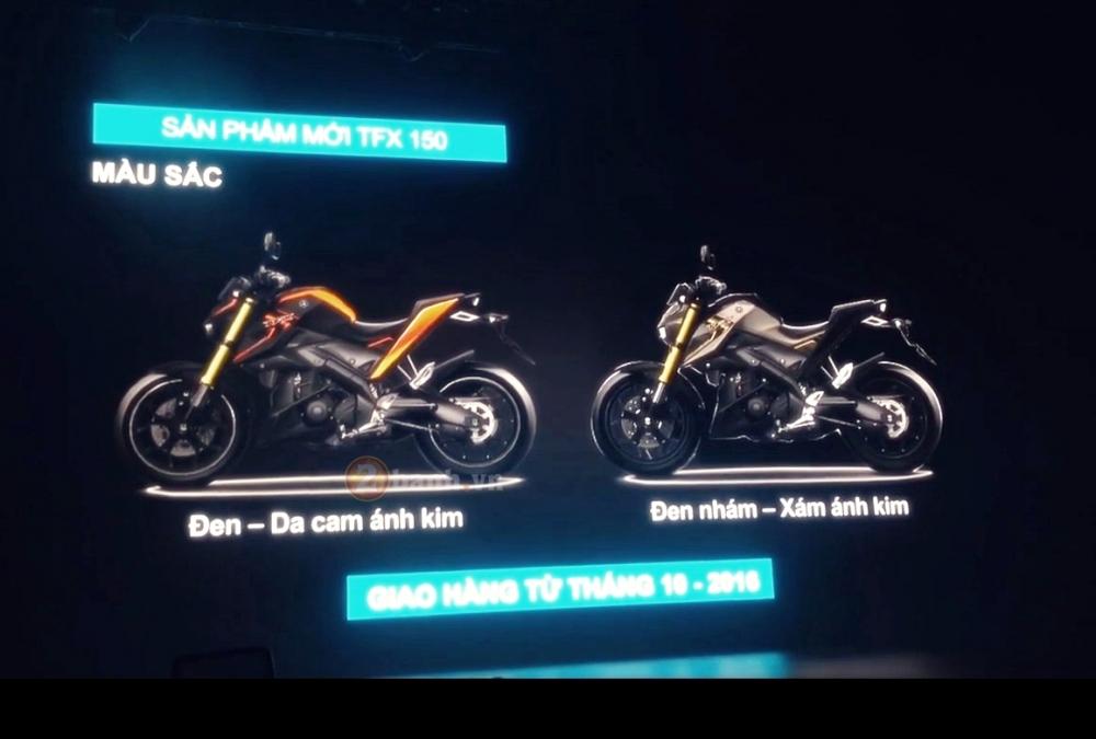Yamaha TFX150 Clip ra mat va gioi thieu cac tinh nang cua xe - 3
