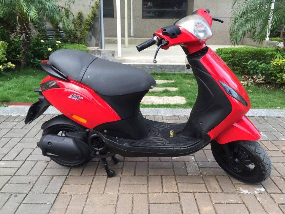 Ban piaggio Zip125 nhap y bien 29R mau do 105 trieu xe cuc dep nguyen ban - 3