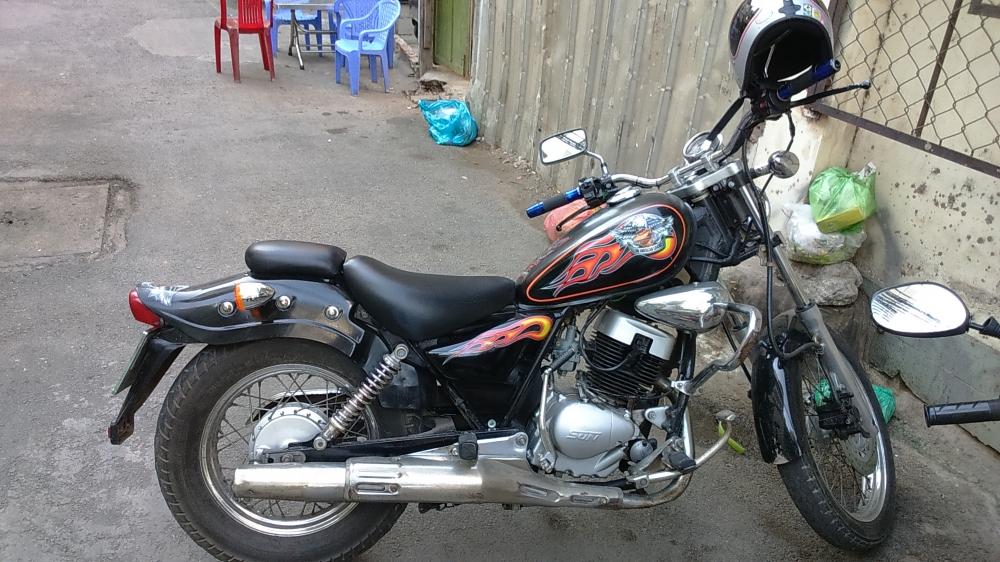 ban xe moto husky do rebell 150 - 2