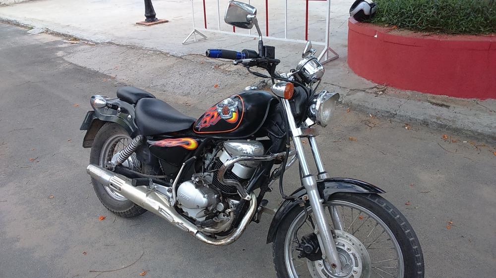 ban xe moto husky do rebell 150 - 4