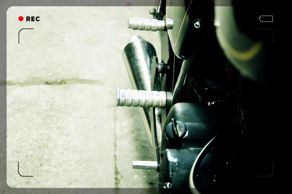 Ban xe Su GN125 do cafe racer - 4