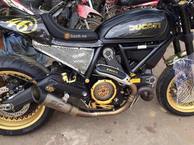Ducati Scrambler do Cafe Racer day an tuong - 2
