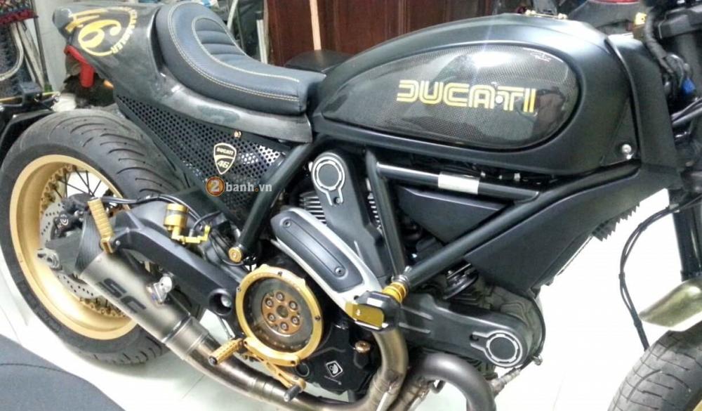 Ducati Scrambler do Cafe Racer day an tuong - 4