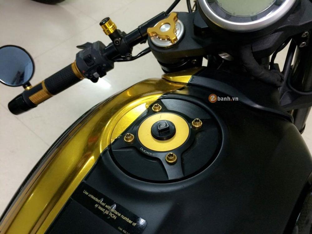Ducati Scrambler do Cafe Racer day an tuong - 6