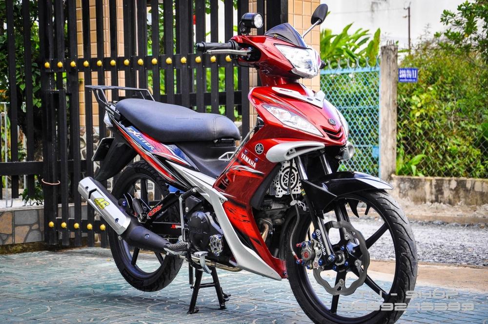 Exciter 135 voi ban do day tinh te cua biker Viet - 2