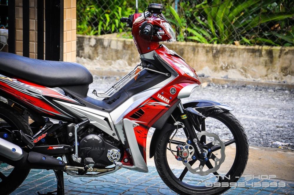 Exciter 135 voi ban do day tinh te cua biker Viet - 11