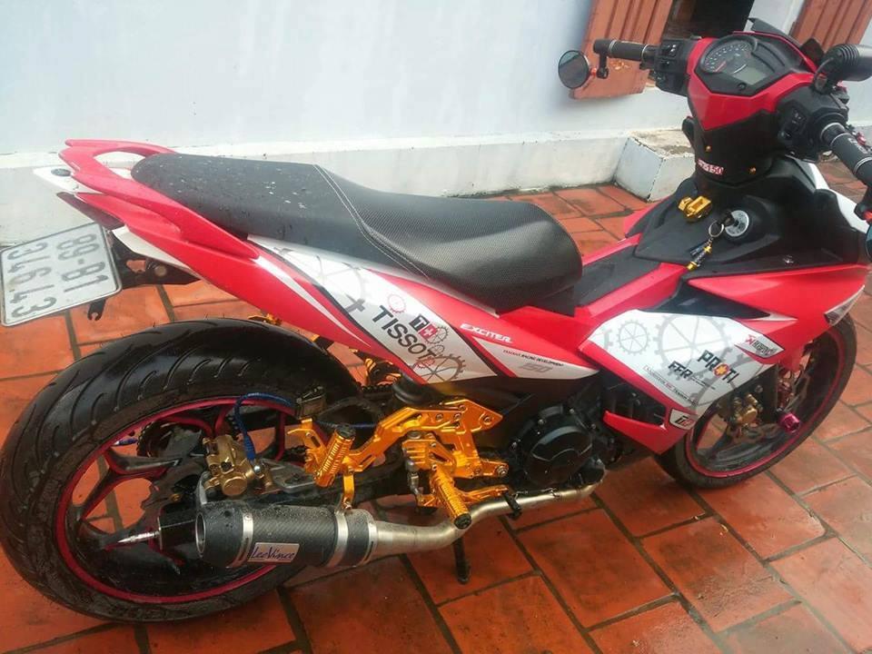Exciter 150 do don gian cua biker Hung Yen - 2