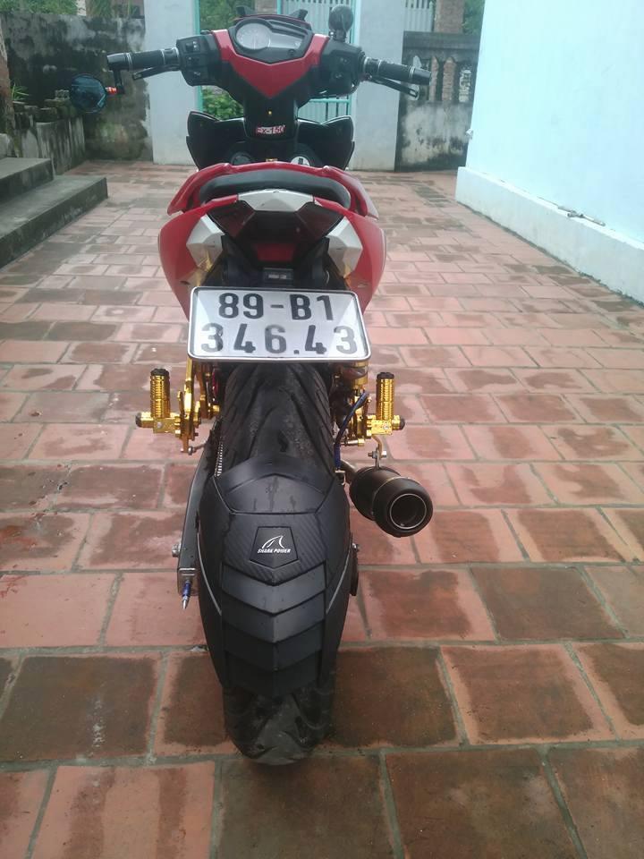 Exciter 150 do don gian cua biker Hung Yen - 4