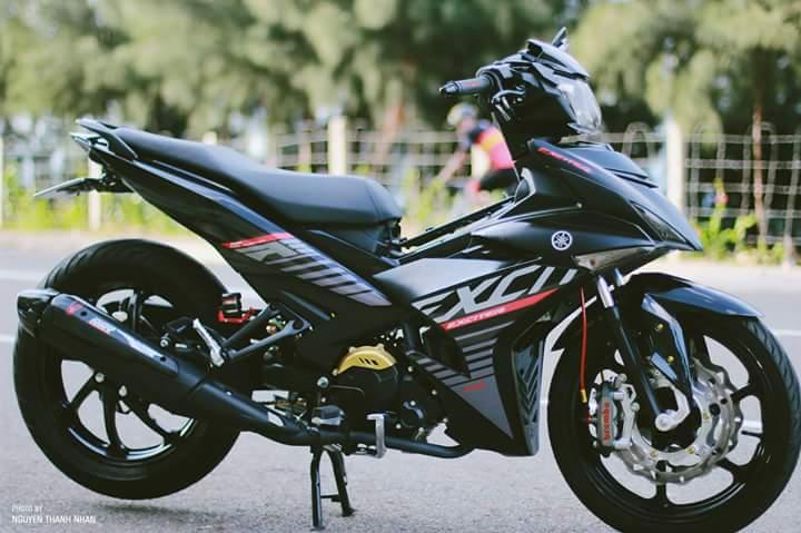 Exciter 150 trang bi bo giap day an tuong cua biker Nha Trang
